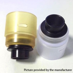 Replacement PEI Cap w/ Drip tip for Entheon RDA Atomizer - Yellow