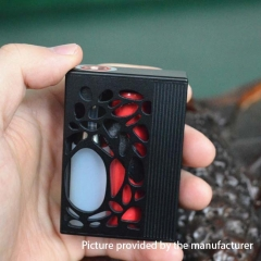 Authentic Yiloong Geyscano DNA 75W VW Variable Wattage Squonk Box Mod W/8ml Bottle - Black
