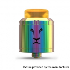 Authentic KAEES Aladdin 24mm RDA Rebuildable Dripping Atomizer w/ BF Pin - Rainbow
