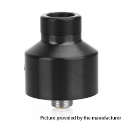 Coppervape Narca Style 22mm 316SS RDA Rebuildable Dripping Atomizer w/ BF Pin - Black
