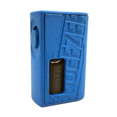 Authentic Hugo Vapor Squeezer 18650/20700 BF Squonk Mechanical Mod w/8ml Bottle - Blue