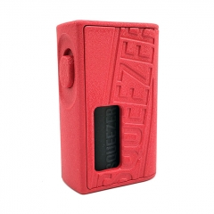 Authentic Hugo Vapor Squeezer 18650/20700 BF Squonk Mechanical Mod w/8ml Bottle - Red