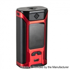Authentic Wismec SINUOUS RAVAGE230 200W TC VW Variable Wattage Mod - Black + Red