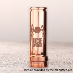 Authentic 5GVape Ice Spiders 18650/20700 Hybrid Mechanical Mod - Copper