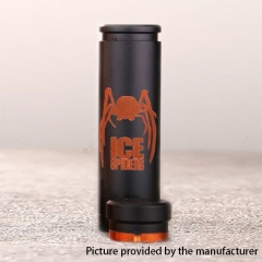 Authentic 5GVape Ice Spiders 18650/20700 Hybrid Mechanical Mod - Black