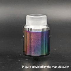 Drop Style 24mm RDA Rebuildable Dripping Atomizer - Rainbow