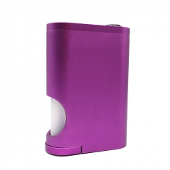 Drip Goon Box Style 24MM Mechanical Squonk Box Mod w/8ml Bottle - Purple
