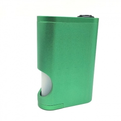 Drip Goon Box Style 24MM Mechanical Squonk Box Mod w/8ml Bottle - Green