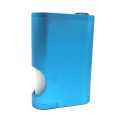 Drip Goon Box Style 24MM Mechanical Squonk Box Mod w/8ml Bottle - Blue