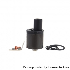 CT M MTL 22mm RDA Rebuildable Dripping Atomizer w/ BF Pin - Black