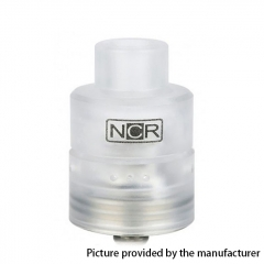 Authentic NCR Nicotine Reinforcer 24mm RDA Rebuildable Dripping Atomizer - White