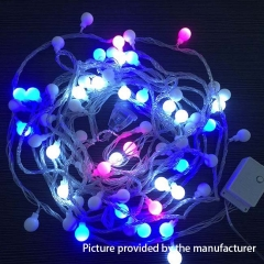 Round Ball Rainbow LED lights 10 Meters 220V (EU plug) - Rainbow