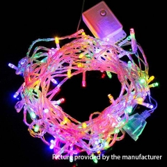LED lights 20Meter 220V (EU Plug)- Rainbow
