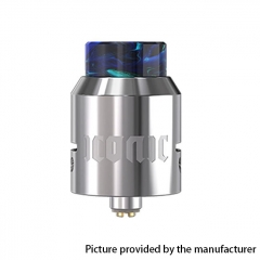 Authentic Vandy Vape Iconic 24mm RDA Rebuildable Dripping Atomizer w/ BF Pin - Silver