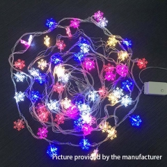 Snowflake Rainbow LED Lights 10 Meters 220V (EU plug) - Rainbow