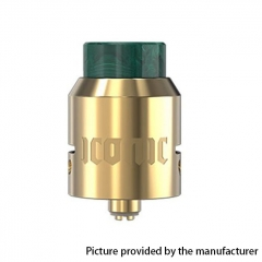 Authentic Vandy Vape Iconic 24mm RDA Rebuildable Dripping Atomizer w/ BF Pin - Gold