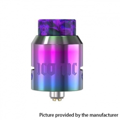 Authentic Vandy Vape Iconic 24mm RDA Rebuildable Dripping Atomizer w/ BF Pin - Rainbow