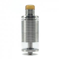 Ulton Ding Prime 24mm RTA Rebuildable Tank Atomizer (Rough Version) 8ml- Silver