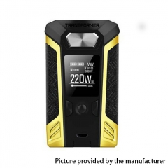 Authentic Vaporesso Transformer 220W TC VW Variable Wattage Box Mod - Yellow