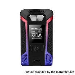 Authentic Vaporesso Transformer 220W TC VW Variable Wattage Box Mod - Blue + Red