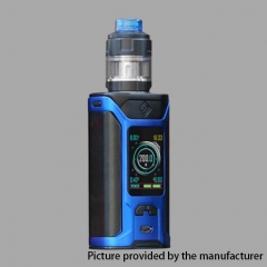 Authentic Wismec Sinuous RAVAGE230 200W TC VW APV Mod w/GNOME Evo Tank (2ml) - Blue