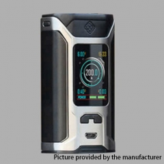 Authentic Wismec Sinuous RAVAGE230 200W TC VW APV Mod  - Silver