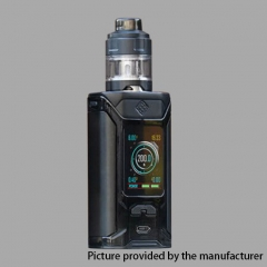 Authentic Wismec Sinuous RAVAGE230 200W TC VW APV Mod w/GNOME Evo Tank (4ml) - Black