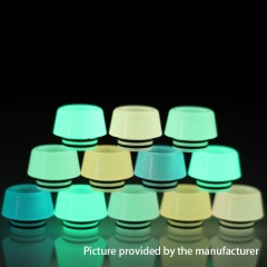 810 Luminous Resin Drip Tip 1pc - Random Color