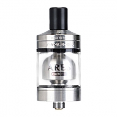 Authentic Innokin Ares 24mm RTA Rebuildable Tank Atomizer 2ml - Silver