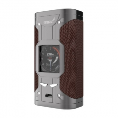 Authentic Smoant Cylon 218W TC VW Variable Wattage Box Mod - Brown