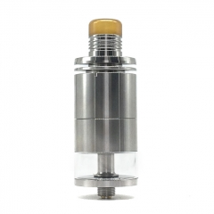 (Ships from Germany)Ulton Ding Prime 24mm RTA Rebuildable Tank Atomizer (Smooth Version) 8ml - Silver