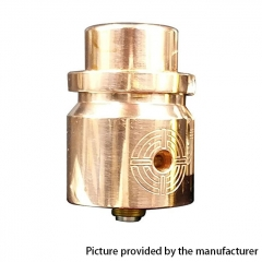 Headshot Style 24mm RDA Rebuildable Dripping Atomizer - Copper