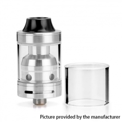 (Ships from Germany)Authentic Sigelei Moonshot 22mm RDTA Rebuildable Dripping Tank Atomizer 2ml - Silver