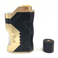 (Ships from Germany)Underground Style 18650/20700/21700 Squonk  Box Mod w/8ml Bottle - Black