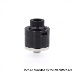 Sentinel Style 22mm RDA Rebuildable Dripping Atomizer w/ BF Pin - Black