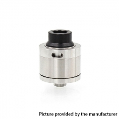 Sentinel Style 22mm RDA Rebuildable Dripping Atomizer w/ BF Pin - Silver