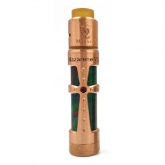 Authentic Marvec Nazarene Resin 18650 Mechanical Mod + Dark Knight RDA Atomizer Kit - Copper Tone