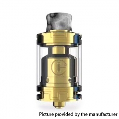 Authentic Godria Bolt 24mm RTA Rebuildable Tank Atomizer 2ml - Gold
