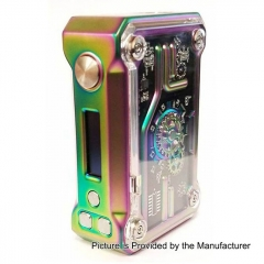 Authentic Teslacigs  Punk 220W Temperature Control APV Box Mod - Rainbow