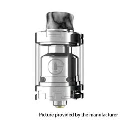 Authentic Godria Bolt 24mm RTA Rebuildable Tank Atomizer 2ml - Silver
