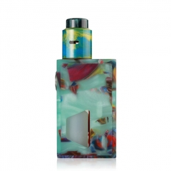 Authentic ALEADER Funky BF Squonk Mechanical Box Mod Kit w/ 7ml Bottle- Green