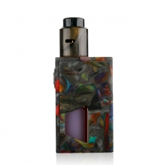 Authentic ALEADER Funky BF Squonk Mechanical Box Mod Kit w/ 7ml Bottle - Black