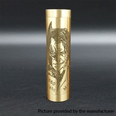 Authentic Marvec Dark Knight 18650/20700 Hybrid Mechanical Mod - Brass