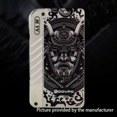 Authentic DOVPO M 280W VV Box Mod (Samurai Version) - Silver