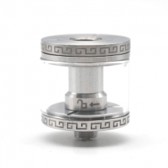 RDTA Adapter for 24mm RDA 4ml - Silver