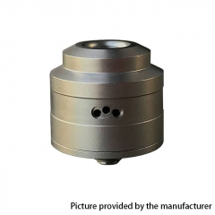 YFTK Le Supersonic Style 24mm RDA 316SS Rebuildable Dripping Atomizer w/ BF Pin - Silver