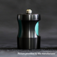 Authentic Cthulhu Squonk Genius 22mm/24mm Adapter 7.1ml- Black