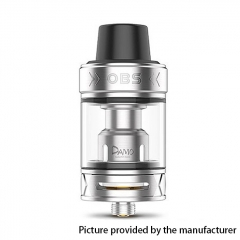 Authentic OBS Damo 25mm Sub Ohm Tank Clearomizer 5ml - Silver