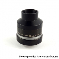 Scar Atty Style 22mm RDTA  Rebuildable Dripping Tank Atomizer w/ BF Pin 1.9ml - Black