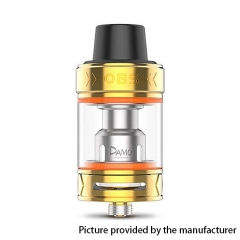 Authentic OBS Damo 25mm Sub Ohm Tank Clearomizer 5ml - Gold